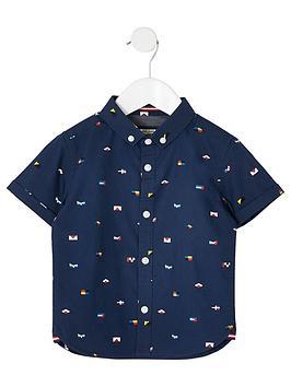 river-island-mini-mini-boys-flag-print-shirt-navy