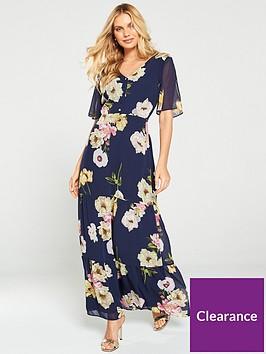 warehouse-flora-floral-tiered-dress-navyprint