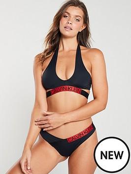 calvin-klein-cross-over-bikini-top-black