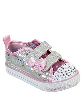 skechers-girls-shuffle-lite-mini-mermaid-infant-plimsoll
