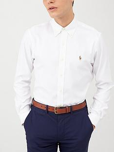 polo-ralph-lauren-golf-long-sleeved-non-iron-oxford-shirt-white