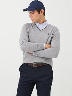 polo-ralph-lauren-golf-v-neck-contrast-trim-knitted-jumper-grey