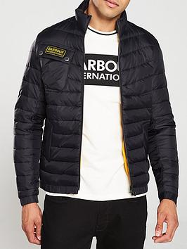 Barbour International Barbour International Chain Baffle Quilted Jacket -  ... Picture