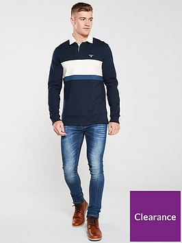 barbour-weston-rugby-shirt-navycream