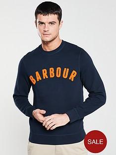 barbour-prep-logo-sweatshirt-navy
