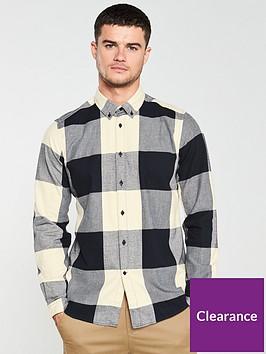 barbour-international-large-gingham-shirt-black