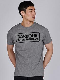 barbour-international-essential-large-logo-t-shirt-grey