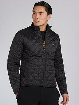 Barbour International Barbour International Gear Quilted Jacket - Black Picture
