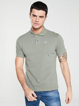barbour-sports-polo-shirt-green