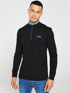Barbour International Barbour International Bleaser Half Zip Sweater -  ... Picture