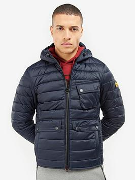 Barbour International Barbour International Ouston Hooded Quilted Coat -  ... Picture