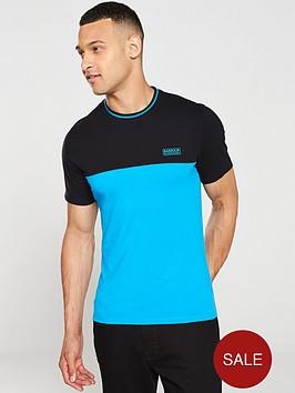barbour-international-blocker-t-shirt-turquoiseblack