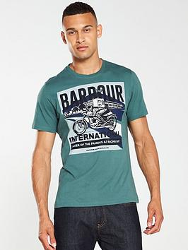 barbour-international-perform-t-shirt-green