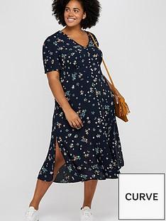 monsoon-curve-neka-print-tea-dress