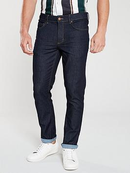 River Island River Island Dark Blue Dylan Slim Fit Jeans Picture
