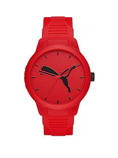 puma-puma-reset-red-and-red-detail-dial-blue-silicone-strap-mens-watch