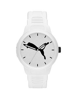 puma-puma-reset-white-and-black-detail-dial-white-silicone-strap-mens-watch