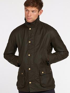 barbour-ashby-wax-jacket-olive-green