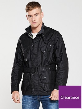 barbour-icons-wax-jacket-black