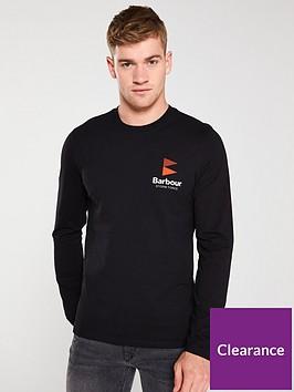 barbour-souter-long-sleevednbspt-shirt-black
