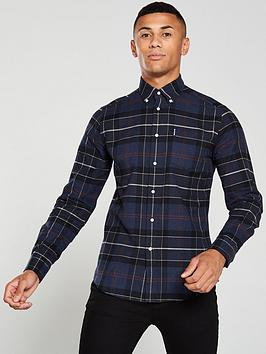 barbour-lustleigh-shirt-navy-check