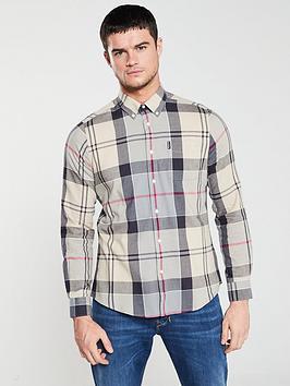 barbour-tartan-shirt-ecrugreyred