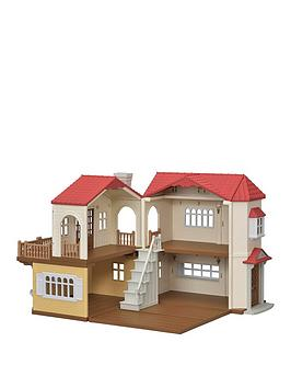 Sylvanian Families Sylvanian Families Red Roof Country Home Picture