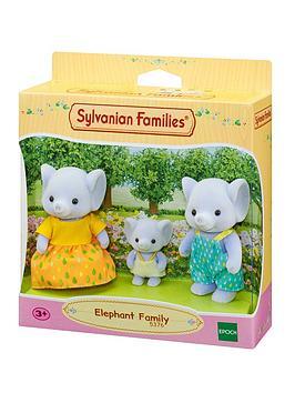 Sylvanian Families Sylvanian Families Elephant Family Picture