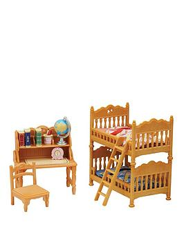 sylvanian-families-childrens-bedroom-comfy-living-room-twin-pack