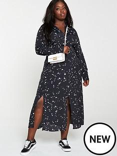 v-by-very-curve-star-shirt-midaxi-dress-multi
