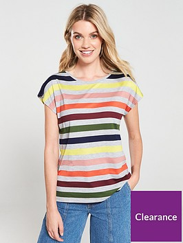 oasis-bali-blocked-striped-t-shirt-multi