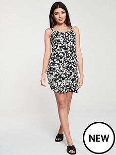 oasis-daisy-corset-sundress