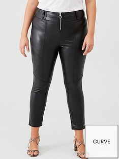 v-by-very-curve-pu-zip-front-skinny-trousers-black