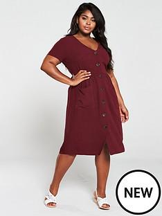oasis-curve-eco-linen-midi-dress-berry
