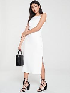 oasis-button-side-midinbspdress-off-white