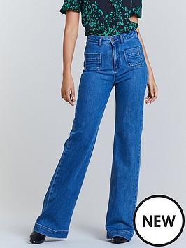michelle-keegan-pocket-front-wide-leg-jean-mid-wash