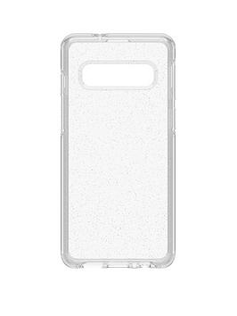 otterbox-otterbox-symmetry-clear-for-samsung-galaxy-s10-clear-confidence-minimalist-but-tough-stardust-77-61350