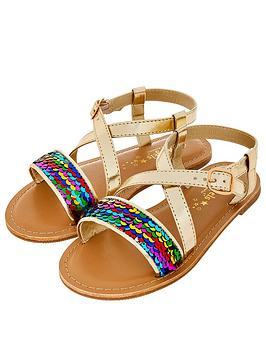 accessorize-girls-rainbow-sequin-sandals-multi