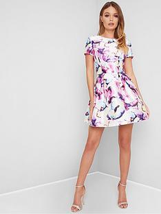 chi-chi-london-chi-chi-london-priyah-floral-skater-dress