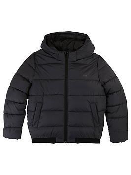 boss-boys-hooded-padded-coat-charcoal