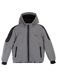 boss-boys-reflective-padded-coat-silver