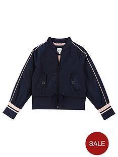 boss-girls-bomber-jacket-navy