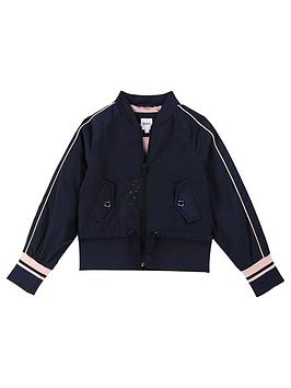 boss-girls-bomber-jacket-navy