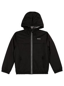 boss-boys-logo-back-hooded-windbreaker-jacket-black