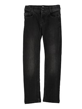 Boss Boss Boys Slim Fit Jeans - Black Picture