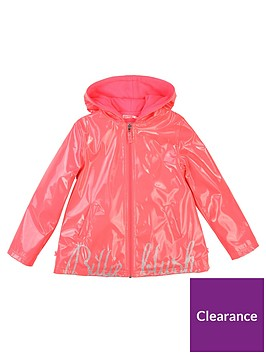 billieblush-girls-logo-hooded-raincoat-fuchsia