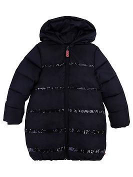 billieblush-girls-glitter-padded-hooded-coat-navy