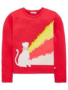 billieblush-girls-knitted-cat-sequin-jumper-bright-pink