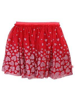 72491d97c Girls Glitter Printed Tutu Skirt - Pink