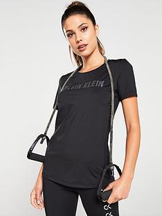 calvin-klein-performance-logo-short-sleeve-tee-black